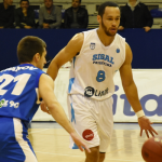 Andrew Lawrence Nears Double-Double on FIBA Europe Cup Debut
