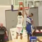 Cory Dixon Finishes Big Dunk Past Defender! BBL Top 10 – Plays Week 22