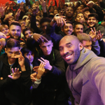 Kobe Bryant Celebrates Start of NBA Season at Nike Town London
