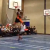Thumbnail image for Rory Spencer Throws Down NASTY Windmill on a Kid in a Fundraiser!