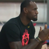 Thumbnail image for LeBron James Bursts with Pride Watching Son Play
