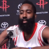 """Thumbnail image for James Harden Admits At Times His Defence """"Is Pretty Bad"""""""