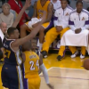 Thumbnail image for Kobe Bryant Finds Boozer with the Behind the Back Feed