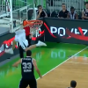 Thumbnail image for Blaz Mahkovic Makes Incredible Shot from Behind the Basket!