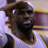 Thumbnail image for LeBron Produces the Chasedown Block and Salutes the Crowd!