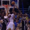 Thumbnail image for Reggie Jackson Hits the Crossover then Dunks Past Two Nets Defenders!