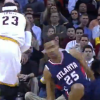 Thumbnail image for LeBron James Hits Thabo Sefalosha with the Crossover, Finds Team-Mate for the 3!