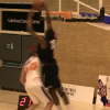 Thumbnail image for Tayo Oyefusi Catches The Lob Off the Glass ALL OVER Defender!