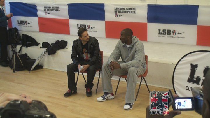 Kobe Bryant Interview at London School of Basketball