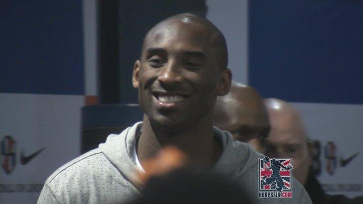 Kobe Bryant London School of Basketball