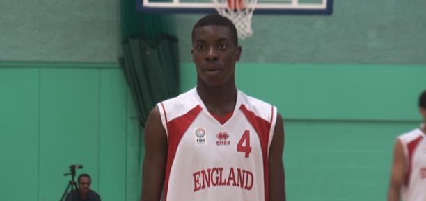 Mo Soluade England Basketball