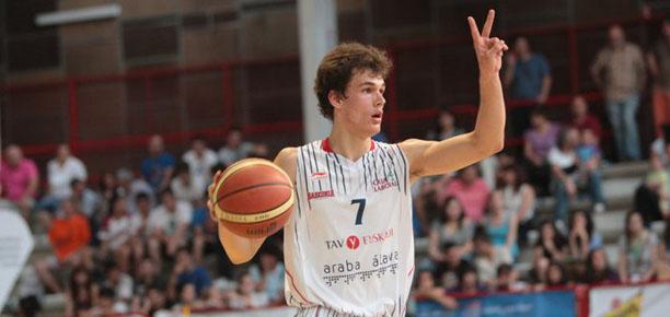 Devon Van Oostrum Baskonia Spanish Junior Championships