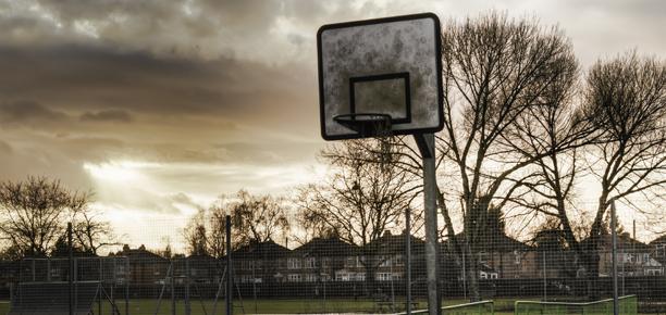 Basketball Court Manchester, England