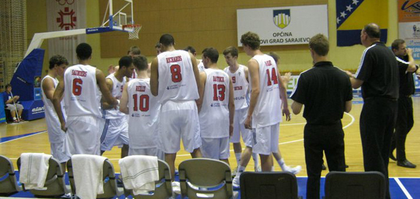 GB U20s basketball vs Finland