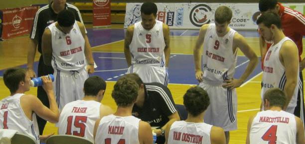 GB U20s vs Romania