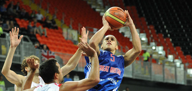 Andrew Lawrence GB vs Croatia