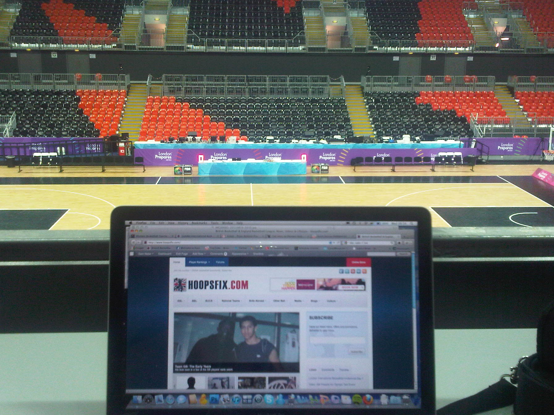 Hoopsfix at the Olympic Arena