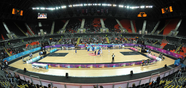 Olympic Basketball Test Event