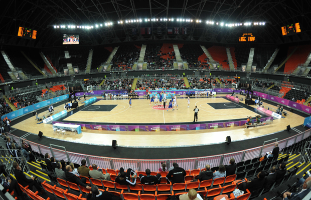 London International Basketball Invitational Day 1