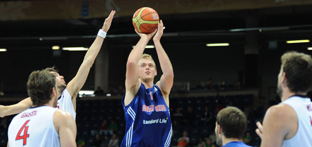 Dan Clark GB vs Spain