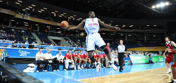 Luol Deng GB vs Portugal
