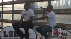 Video: LeBron James Q & A with London School of Basketball