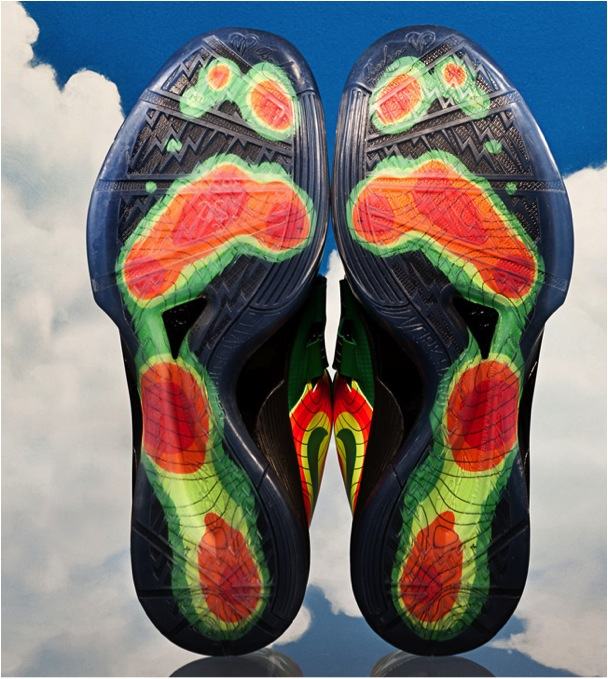 Kevin Durant KD IV Weatherman's Sole