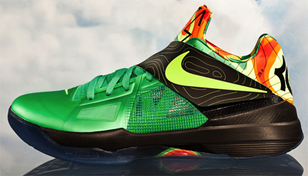 8d52553360f Kicks  Nike Zoom KD IV  Weatherman  Edition - Hoopsfix.com