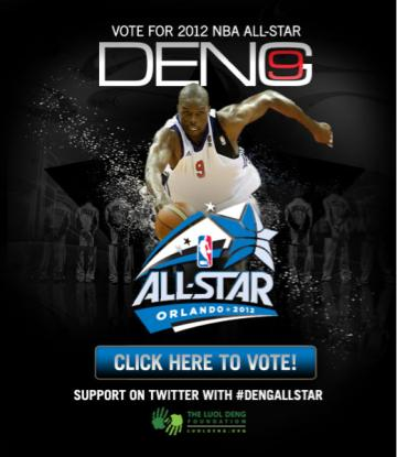 Luol Deng 2012 NBA All Star