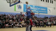 Video: David Durkan Shuts Down NI Dunk Comp