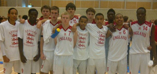 England Under 16s in Italy