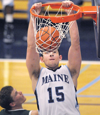 Ali Fraser Dunk at Maine