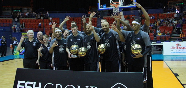 Newcastle Eagles 2012 BBL Playoff Champions