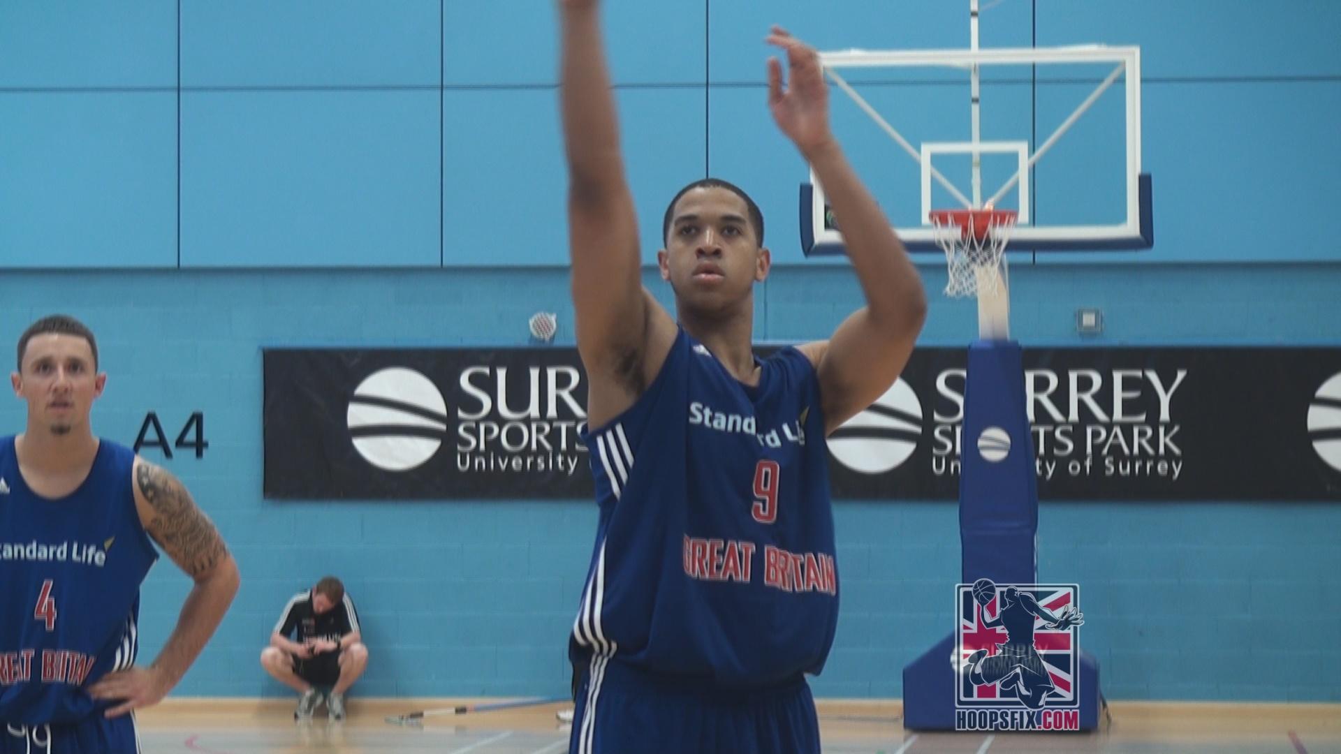 Myles Hesson Great Britain Basketball