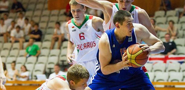 Ali Fraser GB U20s vs Belarus