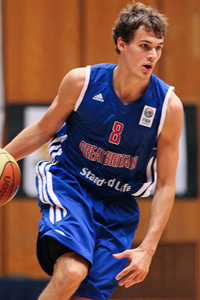 Devon van Ostrum GB U20s vs Croatia
