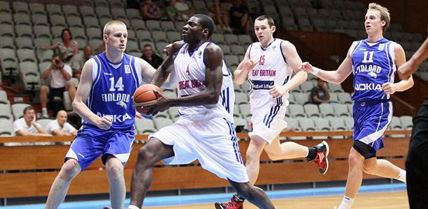 GB U20s vs Finland