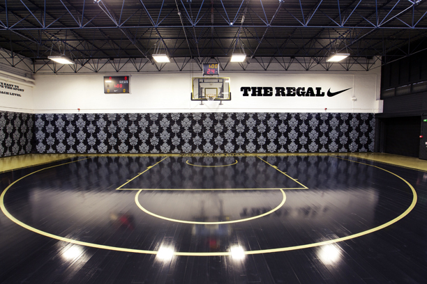Nike unveil 39 the regal 39 london 39 s newest basketball court for Built in basketball court