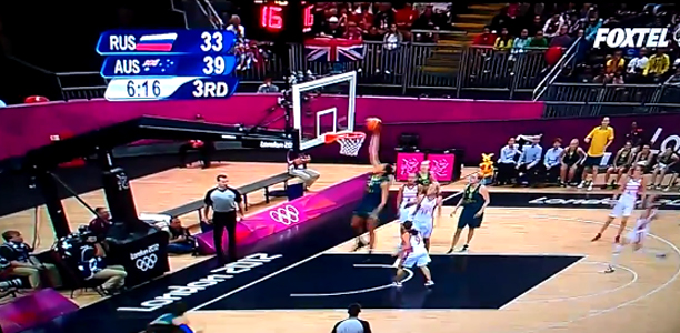 Liz Cambage First Women Dunk Olympic History