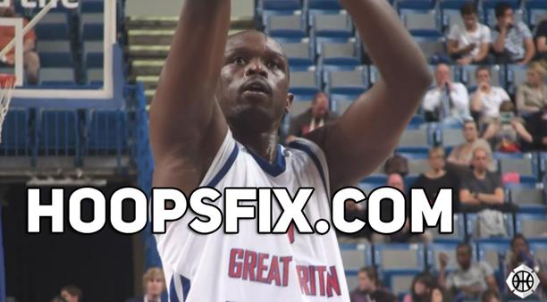 Luol Deng GB Basketball Olympics