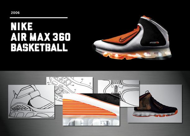reputable site 3f387 05705 Nike Air Max 360 Basketball, 2006