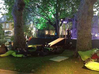 Nike Flyknit Festival London Bean bags
