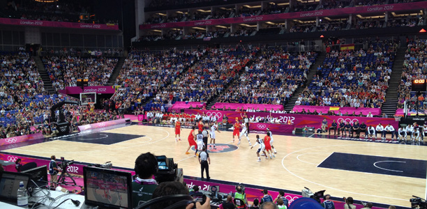 Olympic Basketball Final 2012 Empty Seats