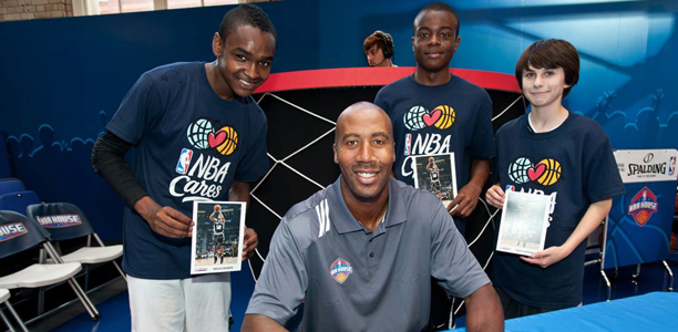 Bruce Bowen at NBA House
