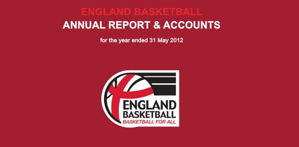 England Basketball Annual Report & Accounts 2012