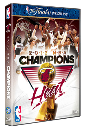 NBA 2012 Champions Miami Heat DVD