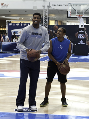 Rudy Gay NBA 3X London
