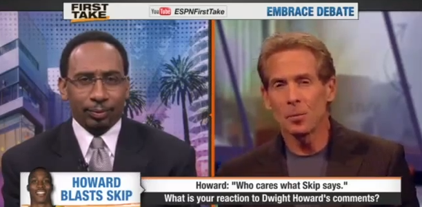 Dwight Howard Disses Skip Bayless on ESPN