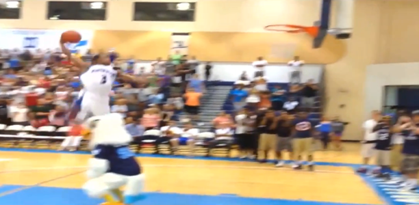 Rashad Birdman James Dunks
