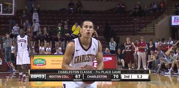 Andrew Lawrence College of Charleston vs Boston College